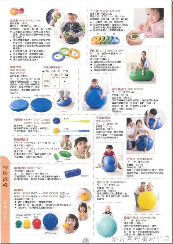 Weplay 童心園 - 球與設備