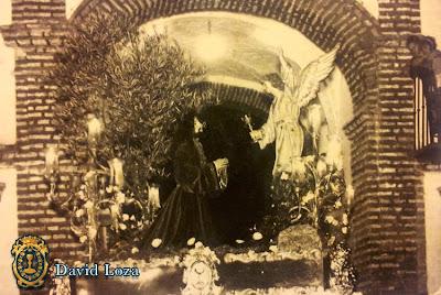 Jesús Orando en el Huerto - Años 60 - David Loza