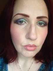 Wearing NYX Cosmetics Prismatic Eyeshadows Look 3_2