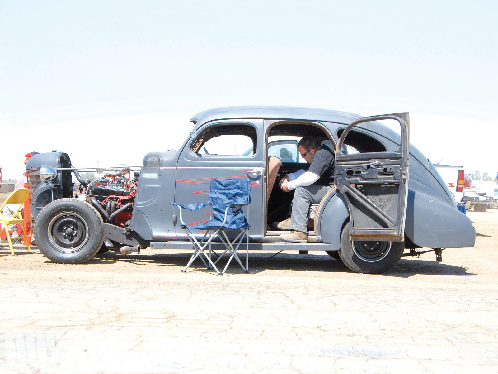 Old Airfield Drag Racing No