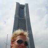 matt at the yokohama landmark in Yokohama, Tokyo, Japan