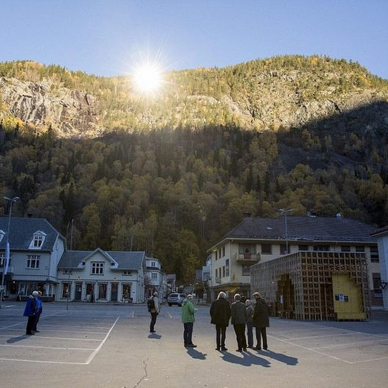 The Giant Sun Mirrors of Rjukan