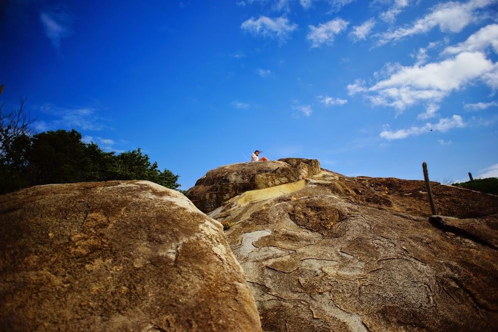 Casibari rock formations in Aruba