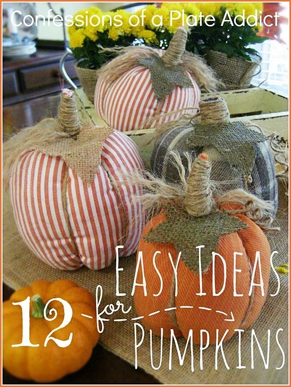 CONFESSIONS OF A PLATE ADDICT 12  Easy Ideas for Pumpkins Scoop