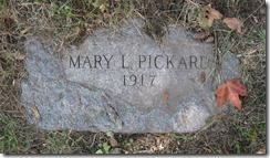 PICKARD_Mary nee LAMOND_headstone_1917_GrandLawnCem_DetroitWayneMichigan