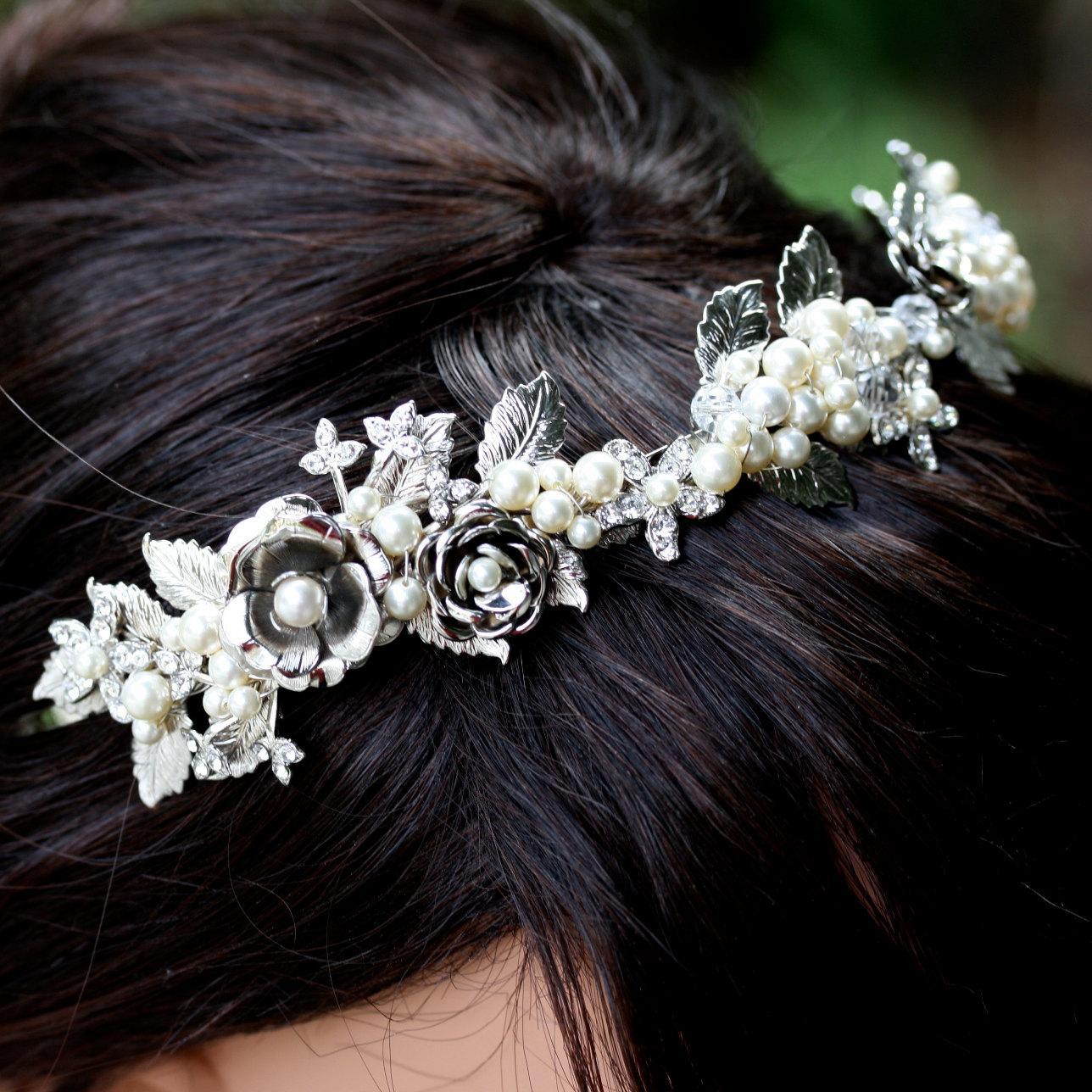 Bridal Headband, Vintage