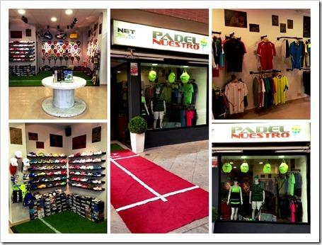 Padel Nuestro abre nueva tienda de pádel en Jaén.