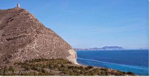 Panorámica desde el fuerte ibérico de Aigües Baixes - El Campello
