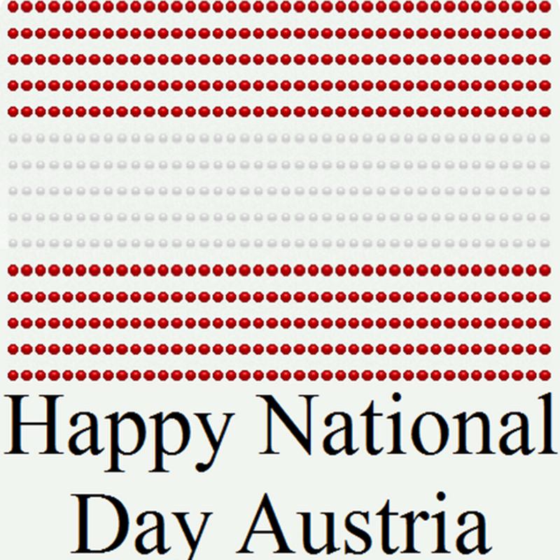 Österreich Nationalfeiertag