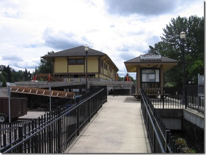 IMG_2936 Oregon City Amtrak Station on May 29, 2010
