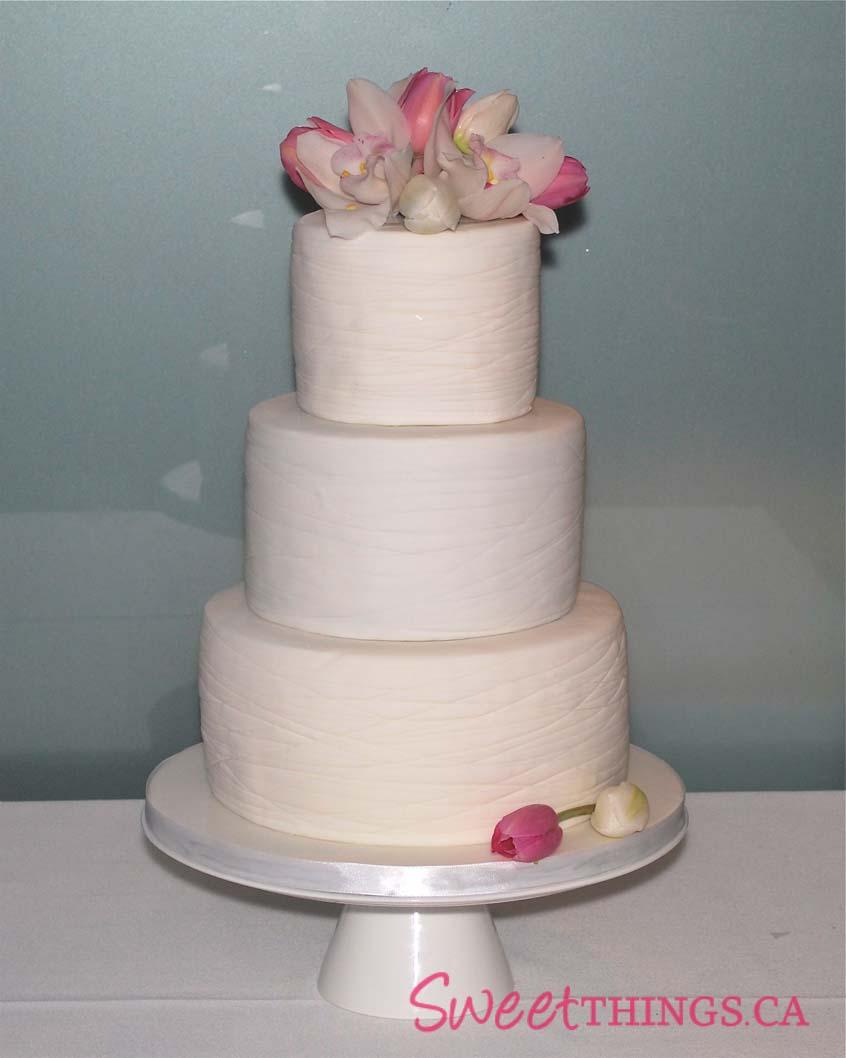 This cake had a wonderful,