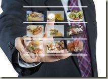 интерактивное меню для ресторана