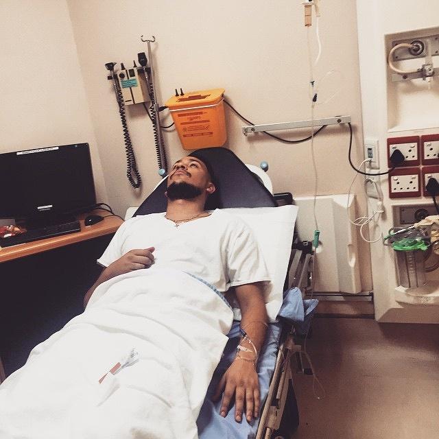 Aka admitted in Hospital!