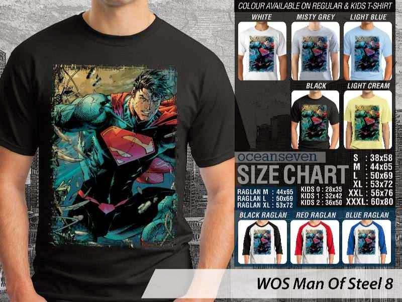 KAOS superman Man Of Steel 53 Movie Series distro ocean seven