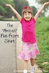 Flat front Skirt