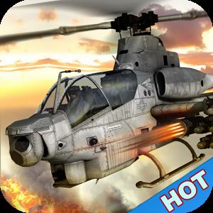 Gunship Helicopter:Air battle v1.0 [Mod Money]