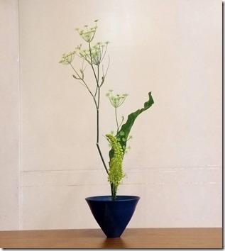 【生花新風体】ウイキョウ、エルムルス、タニワタリ