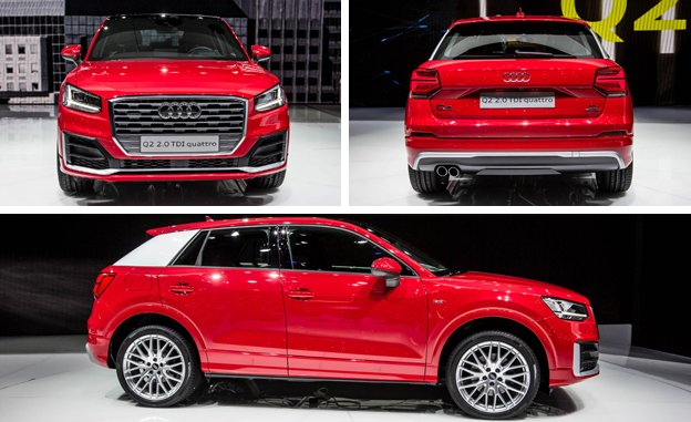 2017 Audi Q2 Release Date Redesign Crossover-SUV Offensive Start Car Review Specs