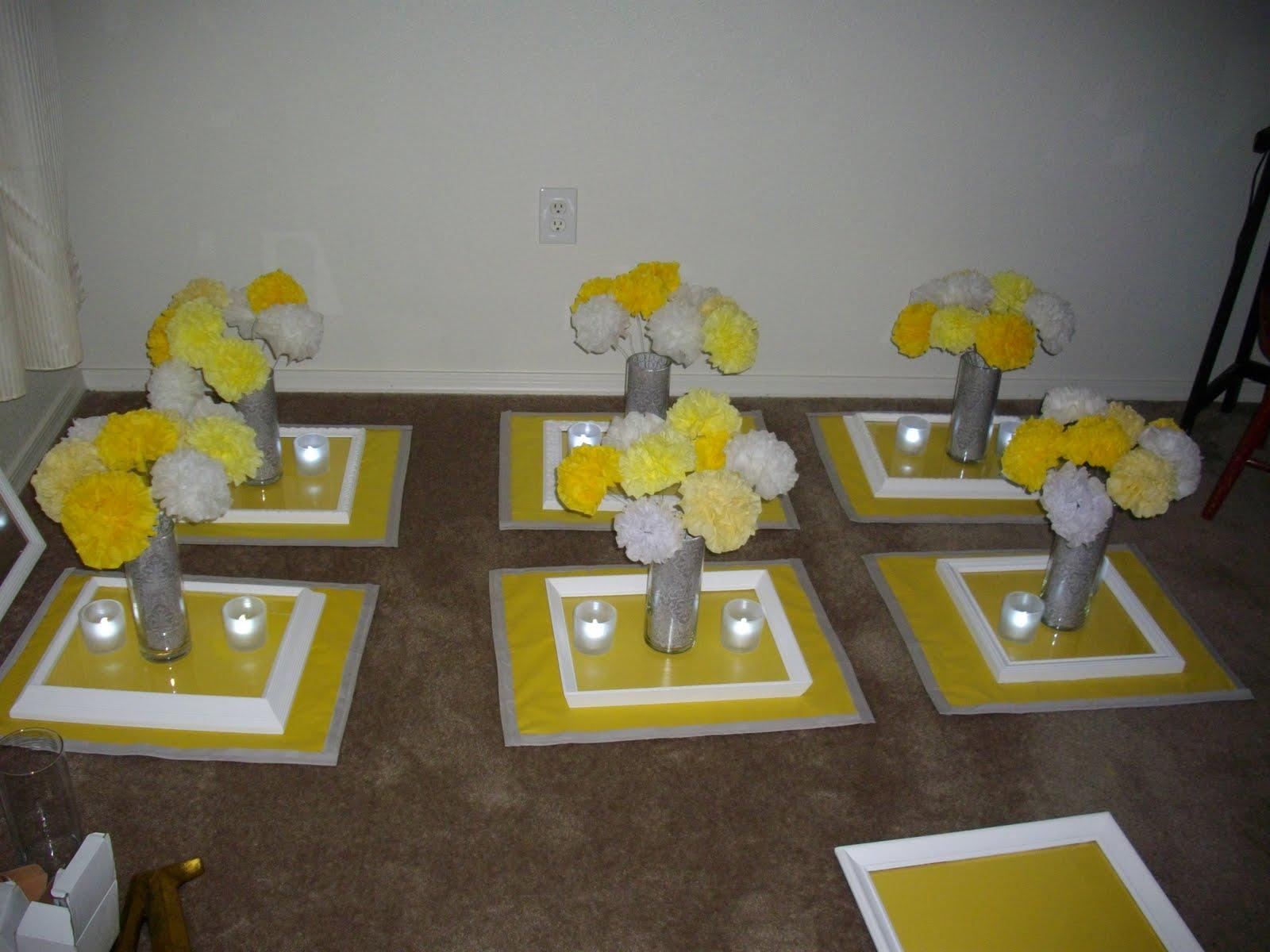 Rahenas Blog Grey And Yellow Wedding