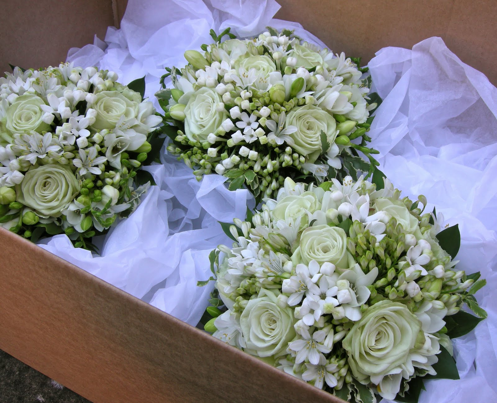 Chebrias Blog Elegant Green Wedding Bouquet