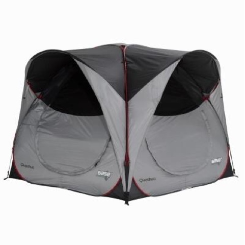 The Arpenaz 4.2 is not a pop up tent though so it was with a little anxiety that we unpacked the tent for the first time. For anyone looking at buying one ...  sc 1 st  The Trials u0026 Tribulations of the Cool Caravanner & The Trials u0026 Tribulations of the Cool Caravanner: First adventure ...