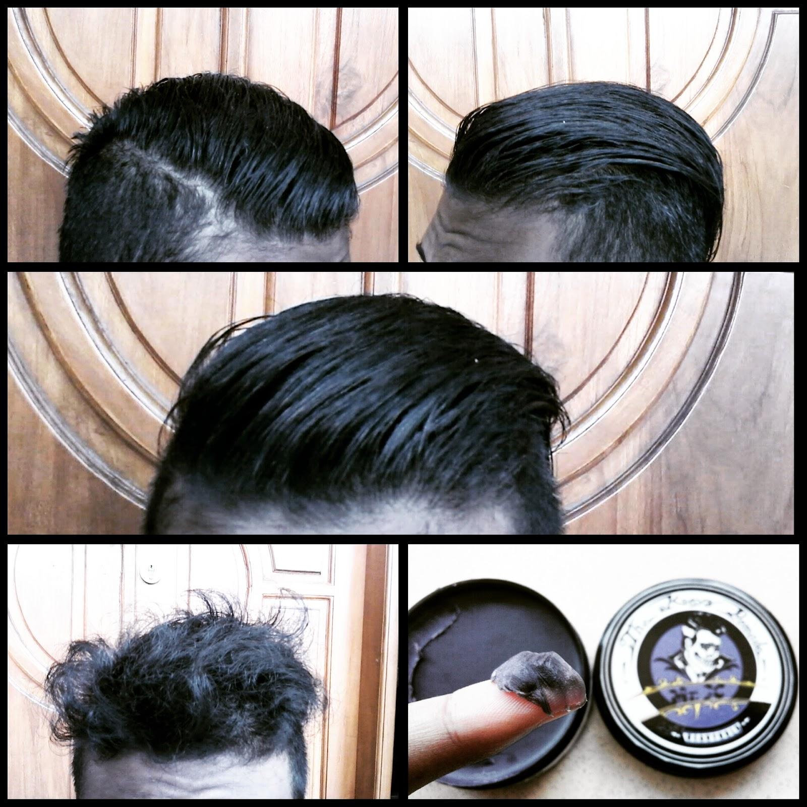 sekali shampo hanya bisa hilang saja pomade ini dari rambut saya Mohon maaf bila ada salah kata sekian review dari saya HOLD 4 7 5 SHINE 1 2 5