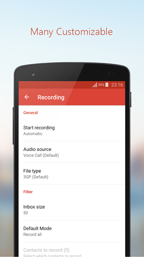 Call Recorder Pro Screenshot 7