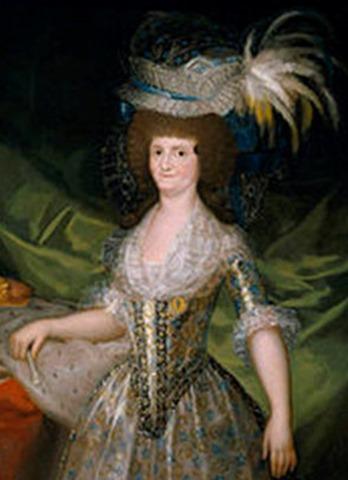 María Luisa de Parma. Goya. 1789
