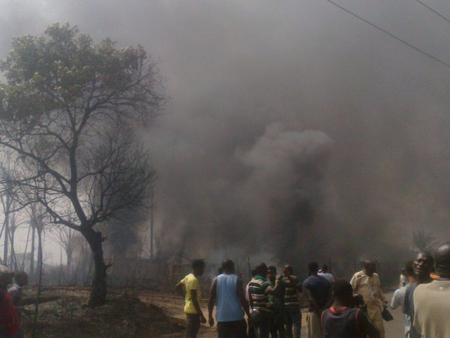 PHOTOS: Over 100 Die In Nnewi Gas Plant Explosion 11