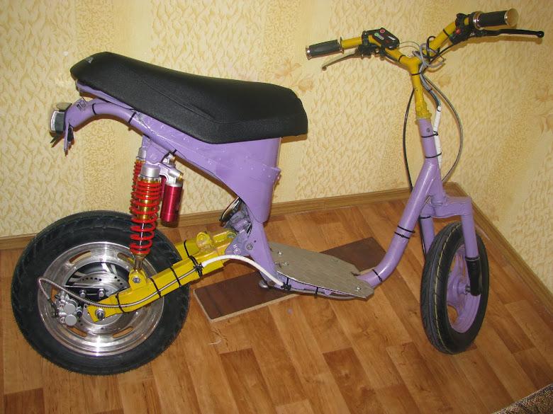 Скутер электро своими руками
