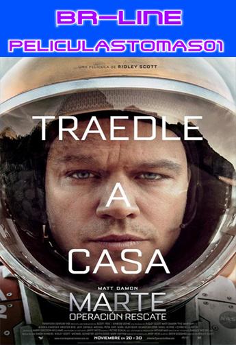 Marte: Operación Rescate (2015) [BR-LiNE 720p/Castellano] [Aventura espacial] [MEGA] BR-LiNE
