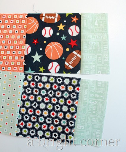 Play Ball quilt tutorial
