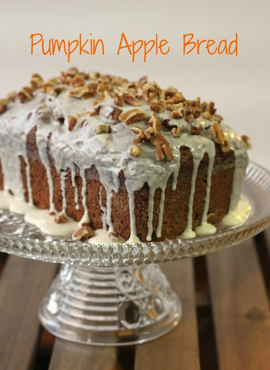 pumpkin Apple Bread 1