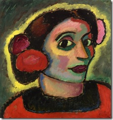 Alexej von Jawlensky - Spanish Woman