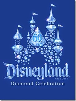 Disneyland Diamond Anniversary Celebration logo. Celebration begins Spring 2015.<br /><br />©2014 Disney Enterprises, Inc. All Rights Reserved. For editorial news use only.