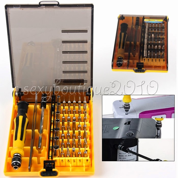 45 in 1 computer mobile phone repair tools set mixed fixing screwdriver hardware. Black Bedroom Furniture Sets. Home Design Ideas