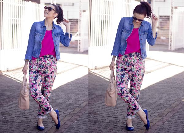 look calça estampada e jaqueta jeans (4)