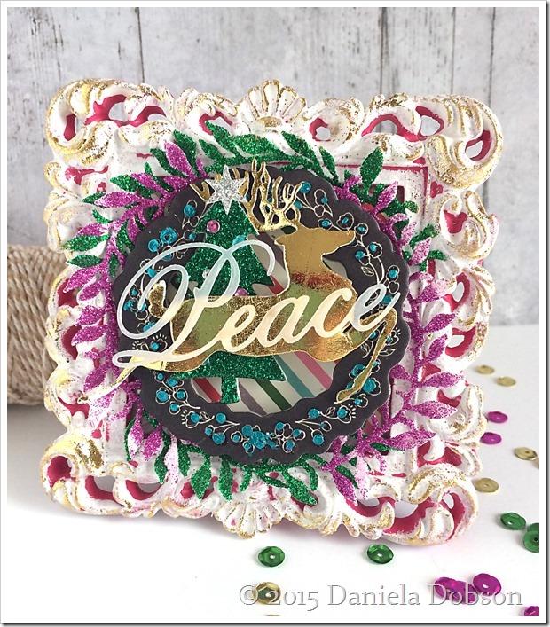 Peace frame by Daniela Dobson
