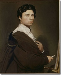 800px-Ingres,_Self-portrait