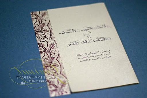 I also designed lace wedding
