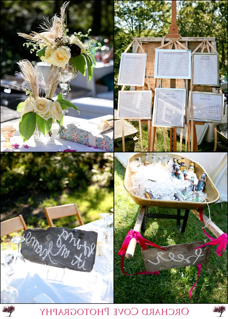 Some reception details - table