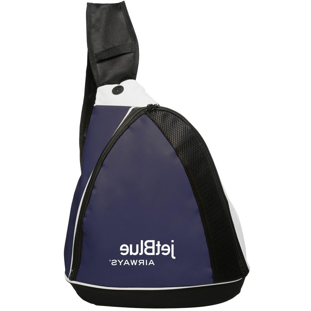 Two-Tone Side Sling Backpacks,