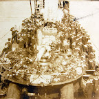 Transporting corpses of 40 German Seamens sunk by English Topedoboats