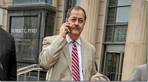 Former Massey Eenergy CEO Don Blankenship - AP Photo