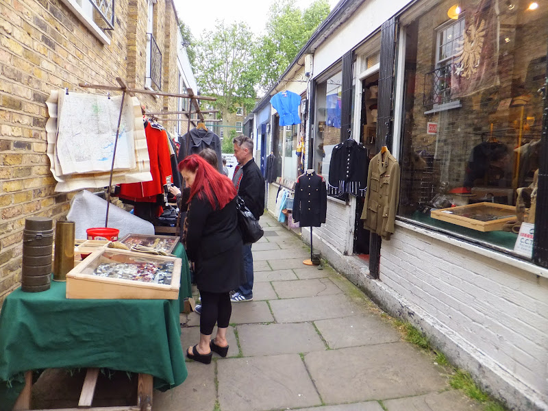 Camden Passage Market, Londres, London
