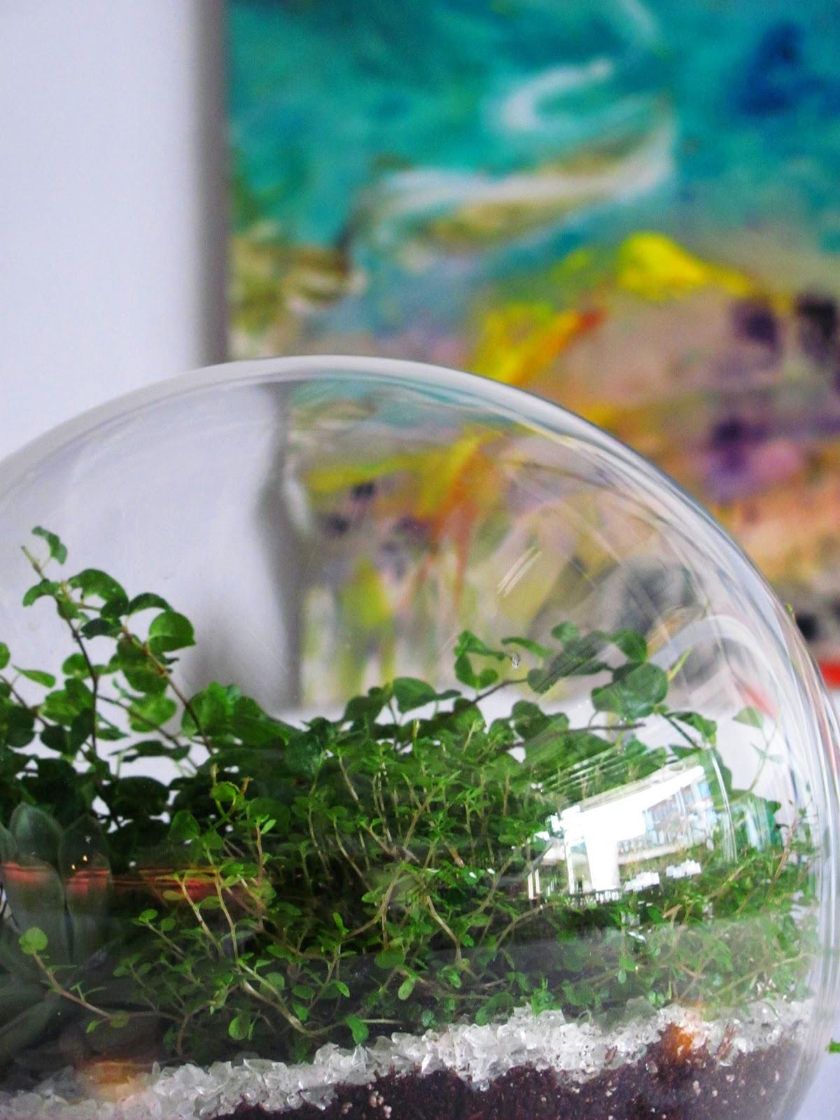 Terrarium Wedding Love