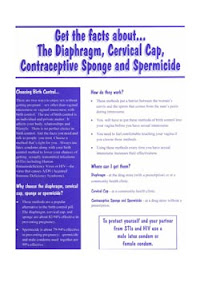 Cover of Helen Ferry's Book The Diaphragm Cervical Cap Contraceptive Sponge And Spermicide