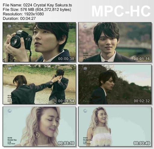 [MUSIC VIDEO] Crystal Kay – サクラ (2016.03.23/MP4/RAR)