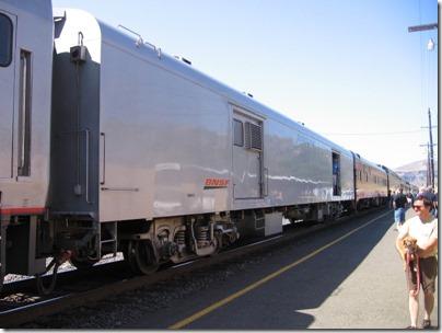 IMG_7732 BNSF Baggage-Power Car #52 'Glorieta Pass' in Wishram, Washington on July 3, 2009