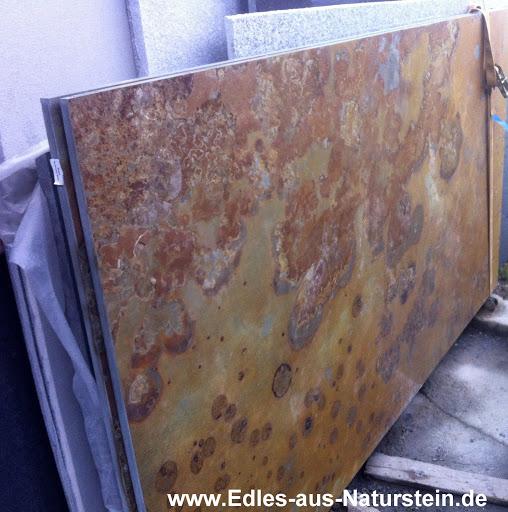 Buntschiefer Schiefer Tischplatte Fuer Couchtisch Esstisch Wohnzimmertisch Tisch